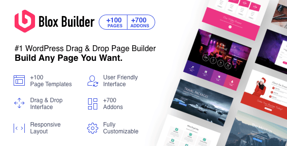 Blox Page Builder for PhrasePress