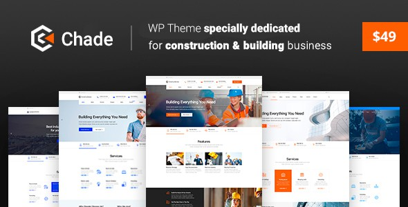 Construction Chade – Construction WordPress for Construction