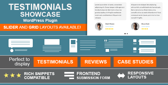 Testimonials Showcase – PhrasePress Plugin