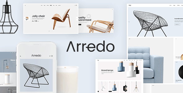 Arredo – A Clean WooCommerce WordPress Theme