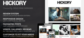 Hickory – A WordPress Magazine Theme