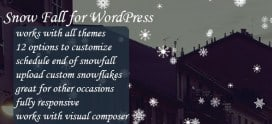 SnowFall for WordPress