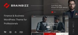 BrainBizz – Finance & Business WordPress Theme