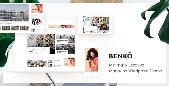 Benko – Creative Magazine WordPress Theme
