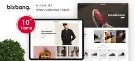 Bixbang – Minimalist eCommerce WordPress Theme for WooCommerce