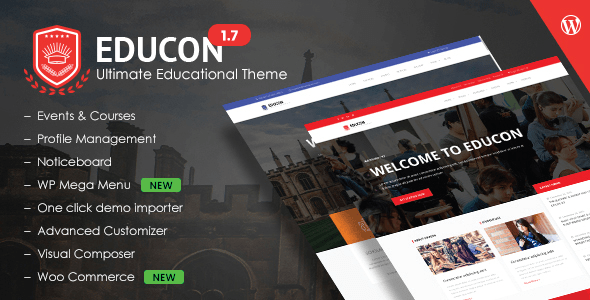 Educon – Education WordPress Theme