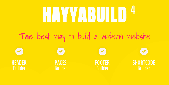 HayyaBuild – WordPress Builder