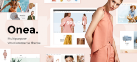 Onea – WooCommerce WordPress theme