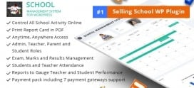 School Management System for WordPress