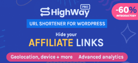 HighWayPro – Ultimate URL Shortener & Link Cloaker for WordPress