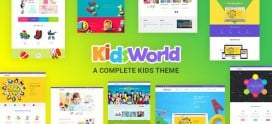 Kids Heaven – Children WordPress