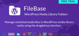 Ultimate Media Library Folders for WordPress – FileBase