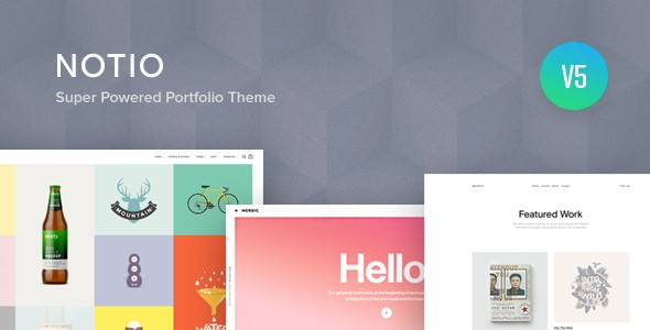 Notio – Creative Portfolio WordPress Theme
