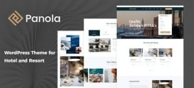 Panola : Resort and Hotel WordPress Theme