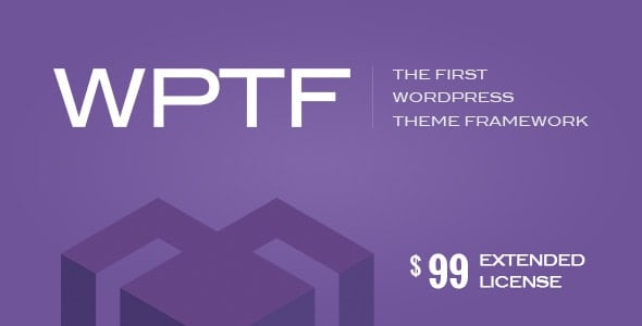WPTF – WordPress Theme Framework
